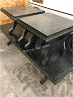 Black Coffee Table & End Tables
