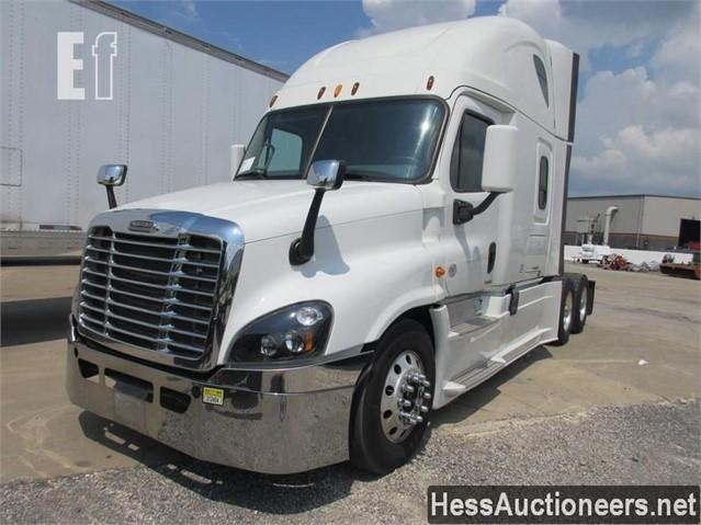 2015 Freightliner Cascadia >> Lot 57 2015 Freightliner Cascadia 125