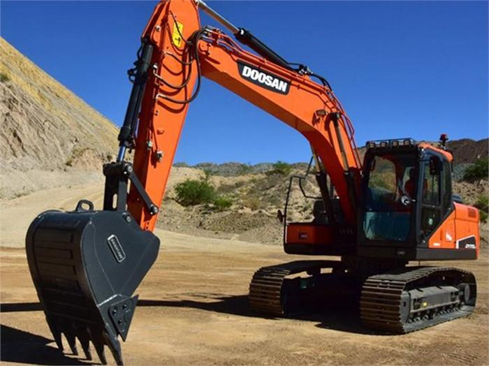Doosan's New DX170LC-5 Crawler Excavator Easy To Transport