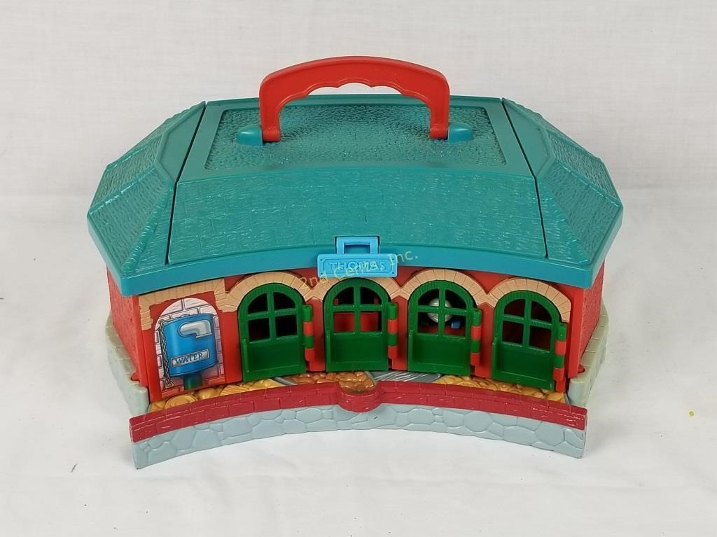 Excellent Thomas The Train Turntable Plastic Set 2Nd Cents Inc Home Remodeling Inspirations Genioncuboardxyz