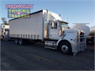 2010 Western Star 4864FX Tautliner / Curtainsider