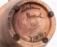 Barbara Heard Signed Pottery