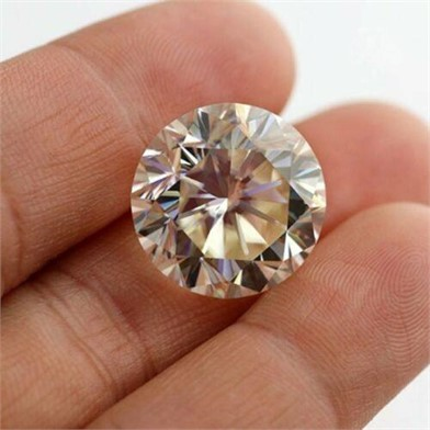 1 Yellow Round 1 15 Ct Stone Vvs1 Moissanite Other Items For Sale