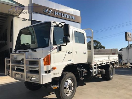 2012 Hino 500 Series 1322 GT 4x4 Crew Adelaide Quality Trucks & AD Hyundai Commercial Vehicles - Trucks for Sale