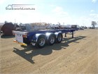 2014 Hamelex White Skeletal Trailer Skeletal Trailers