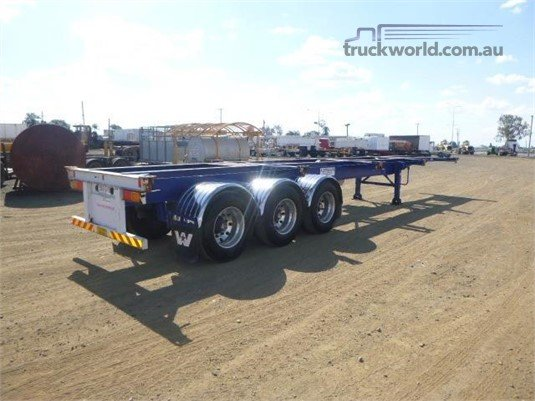 2014 Hamelex White Skeletal Trailer - Trailers for Sale