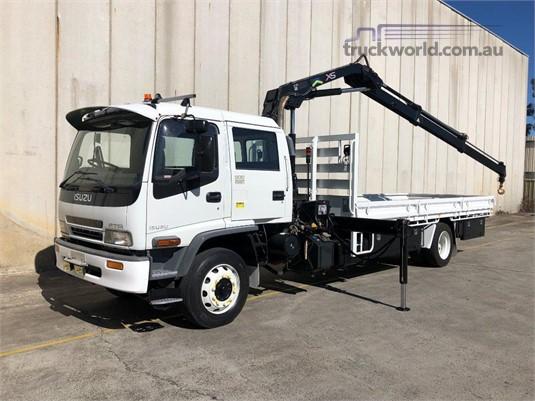 2007 Isuzu FTR 900 Dual Cab - Trucks for Sale