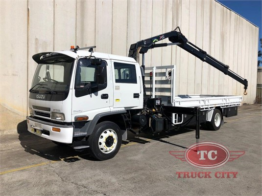 2007 Isuzu FTR 900 Dual Cab Truck City - Trucks for Sale