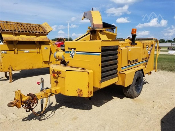 VERMEER Pull-Behind Wood Chippers Logging Equipment For Sale