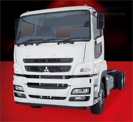 Fuso Heavy 6x4 FV51 455hp MWB 12 Sp. AMT