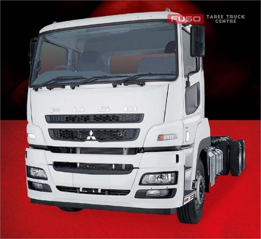 Fuso Heavy 6x4 FV54 High Roof Prime Mover 455hp Air Susp. 12 Sp. AMT