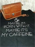 Vintage camera travel bag, custom tshirt
