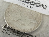 1898 Morgan Silver Dollar-