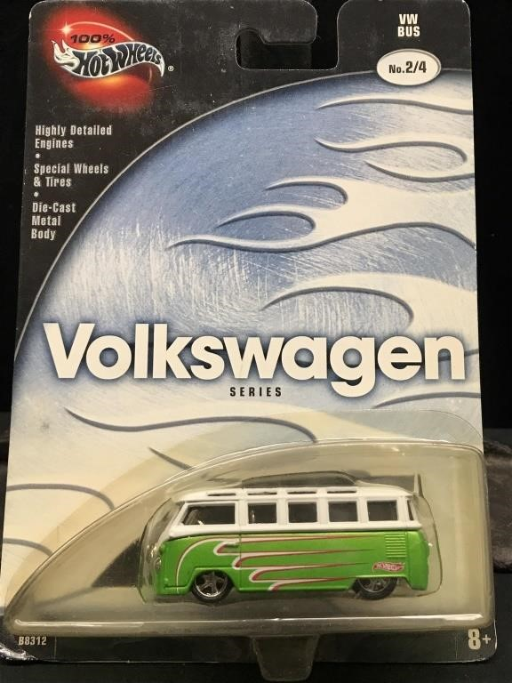Enjoyable Hot Wheels Volkswagen Series Vw Bus Big Daddy Auctions Sales Squirreltailoven Fun Painted Chair Ideas Images Squirreltailovenorg
