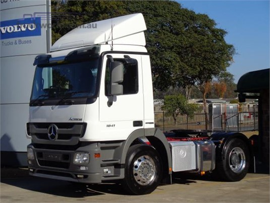 2010 Mercedes Benz Actros 1841 Trucks for Sale