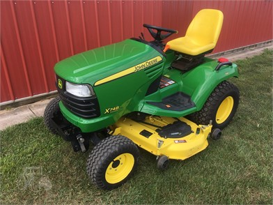 JOHN DEERE X748 For Sale - 12 Listings | TractorHouse com