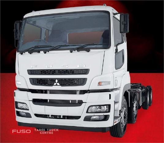 Fuso Heavy 8x4 FS52 455hp LWB 12 Sp. AMT