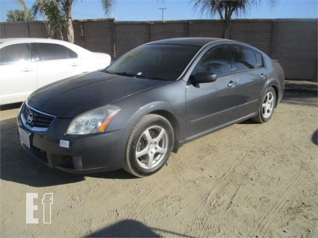 07 Nissan Maxima >> Lot 317 2007 Nissan Maxima For Sale In Perris California