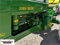 1953 John Deere 50, Narrow Front, 11-38 Rears, Lik