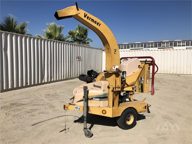 VERMEER BC600 Wood Chippers Logging Equipment For Sale - 10