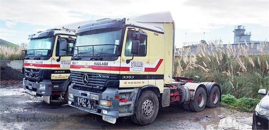 2000 Mercedes Benz ACTROS 2031 Trucks for Sale