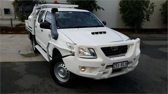 2014 Toyota Hilux Kun26r My14 Sr Double Cab Light Commercial for Sale