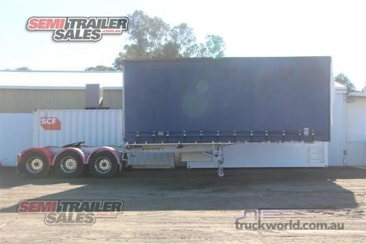 2007 Vawdrey Curtainsider Trailer Trailers for Sale