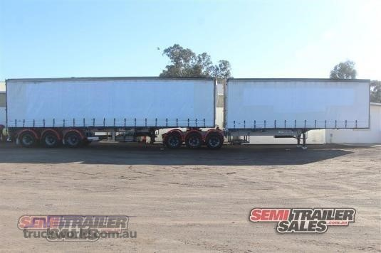 1997 Vawdrey Curtainsider Trailer Trailers for Sale