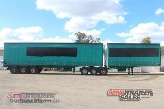 2005 Krueger Curtainsider Trailer Trailers for Sale