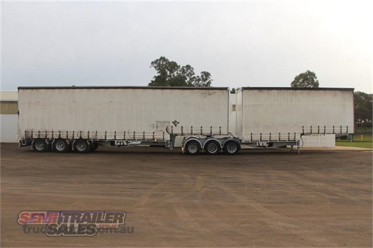 2009 Vawdrey Curtainsider Trailer Trailers for Sale