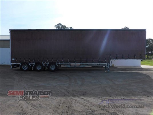 2008 Vawdrey Curtainsider Trailer Trailers for Sale