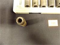 Ratchet Set -10 attachments in silver plastic case