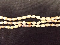 Keshi Pearls (per seller) 3 strand necklace