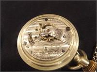Elgin Pocket Watch in Display