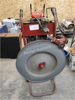 Strapping Machine Cart w/ Metal Strapping