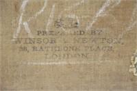 ILLEGIBLY SIGNED (19th CENTURY).