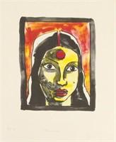 M. F. HUSAIN (INDIAN, 1913-2011).