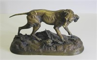 Jules Moigniez  (French 1835 - 1894). Signed Gilt