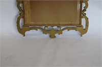 Antique Carved And Giltwood Mirror.