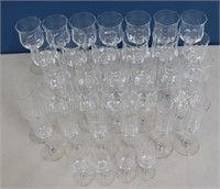 BACCARAT. Grouping Of Signed Stemware.