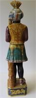 Antique Majolica Blackamoor Figure
