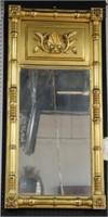 Antique Giltwood Sheraton Mirror.
