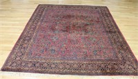 Antique And Finely Hand Woven Roomsize Sarouk