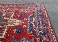 Large Hand Woven Carpet