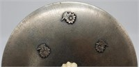 SILVER. Italian .800 Silver Bowl with Figural