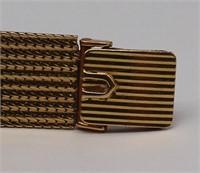 JEWELRY. Ladies Universal Geneve 18kt Gold Watch.