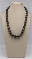 JEWELRY. Tahitian Pearl and Diamond Necklace.
