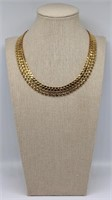 JEWELRY. Vintage 18kt Gold Necklace.