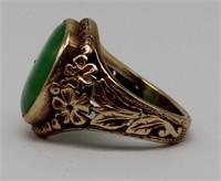 JEWELRY. Jade Jewelry Grouping.