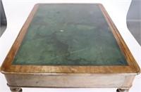 19th Century Victorian  Leathertop Desk.